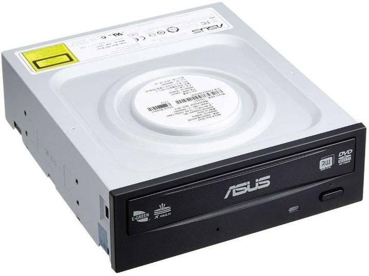 ASUS DVD Writer DRW-24D5MT/BLACK/BULK, black, SATA, M-Disc