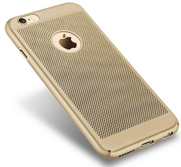 Ochranný kryt pro Apple iPhone 6/6s - Zlatý