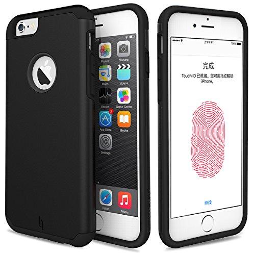 Ochranný kryt pro Apple iPhone 6/6s - Černý