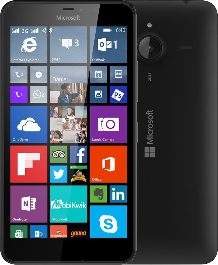 Fotografie Microsoft Lumia 640 XL Black