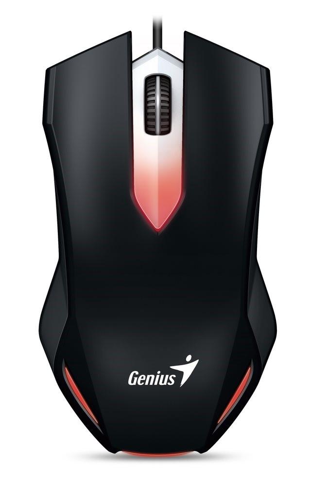 Drátová Myš GENIUS X-G200 gaming - Černá
