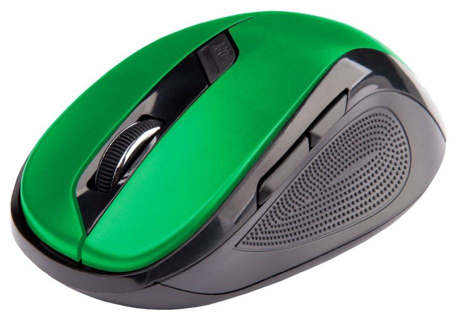 Bezdrátová Myš C-TECH WLM-02 - Zelená