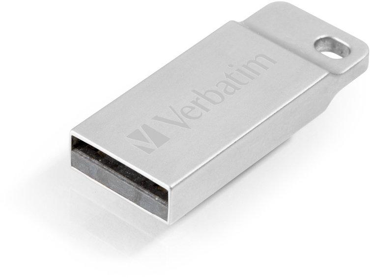 Verbatim Metal Executive Flash Disk 32GB USB 2.0 - Kovový