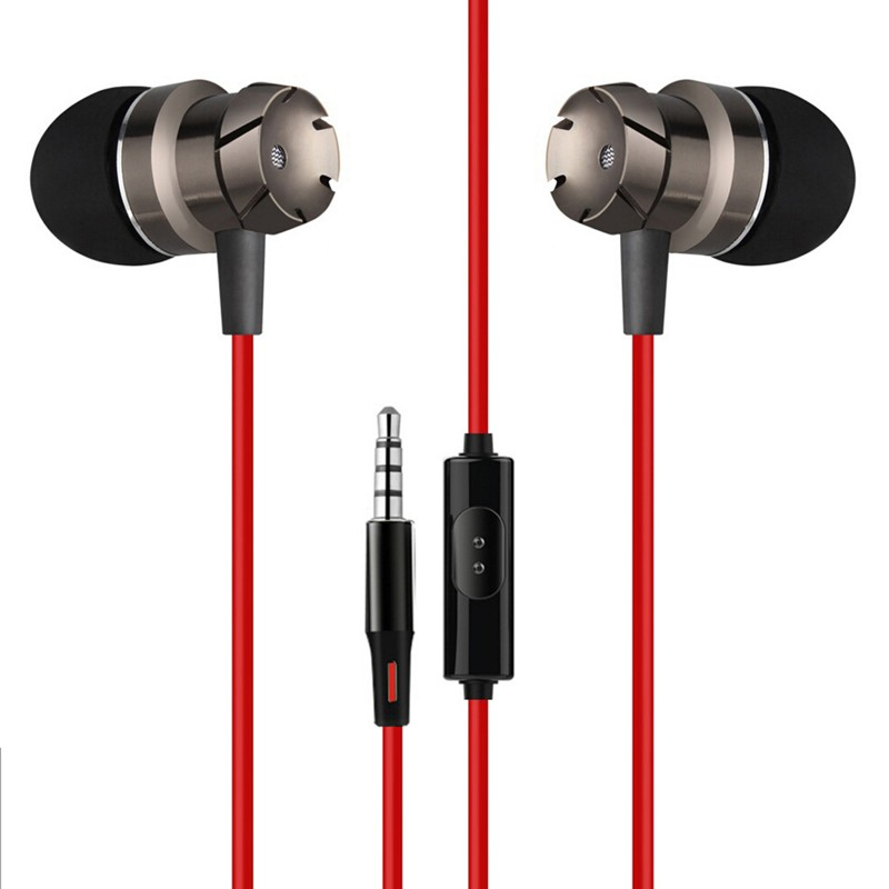 Drátová sluchátka Red Magic