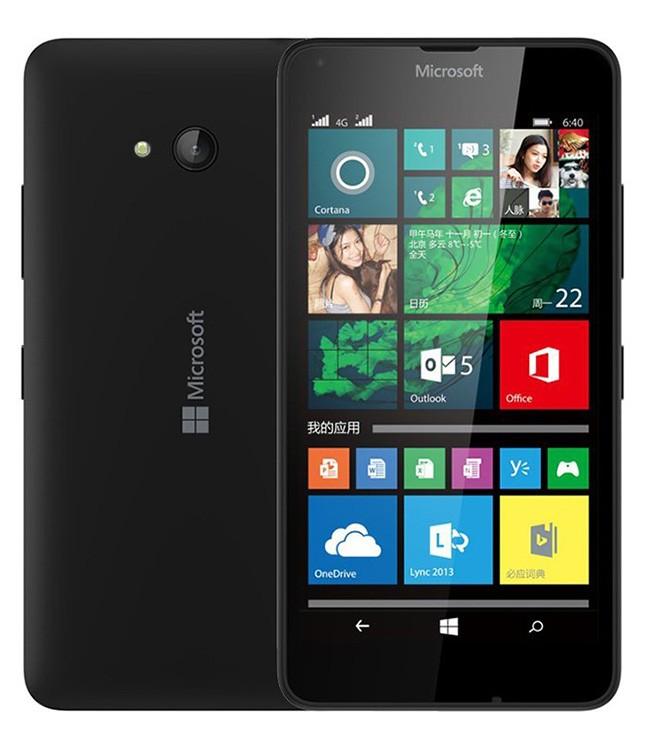 Microsoft Lumia 640 LTE Dual SIM Black
