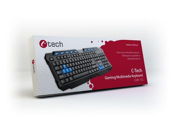 Klávesnice C-TECH GMK-102