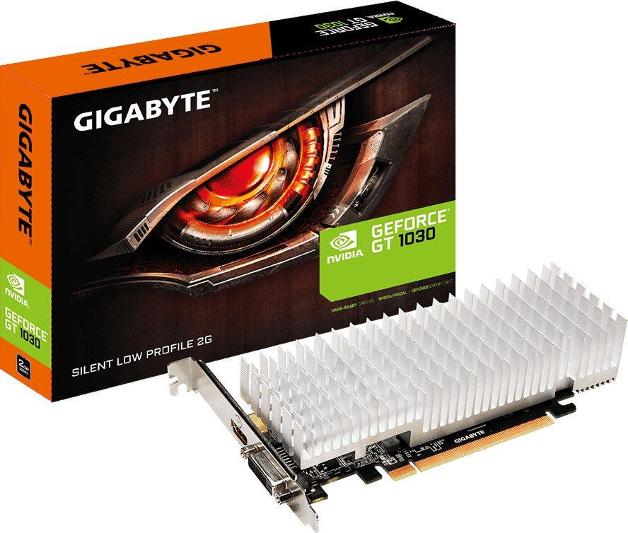 Gigabyte Nvidia Geforce GT 1030 Silent Low Profile 2G, 2GB GDDR5