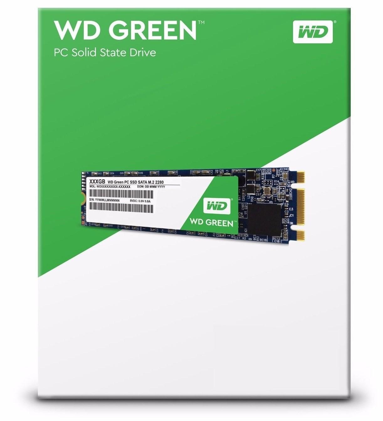WD GREEN SSD WDS120G2G0B 120GB SATA M.2