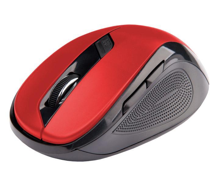 Bezdrátová Myš C-TECH WLM-02 - Červená