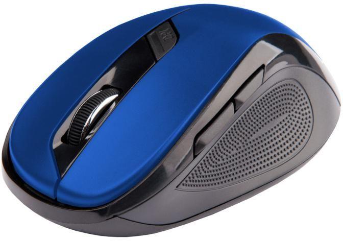 Bezdrátová Myš C-TECH WLM-02 - Modrá