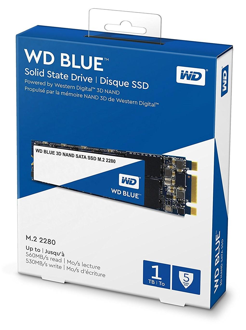 WD Blue SSD WDS100T2B0B 1TB SATA M.2
