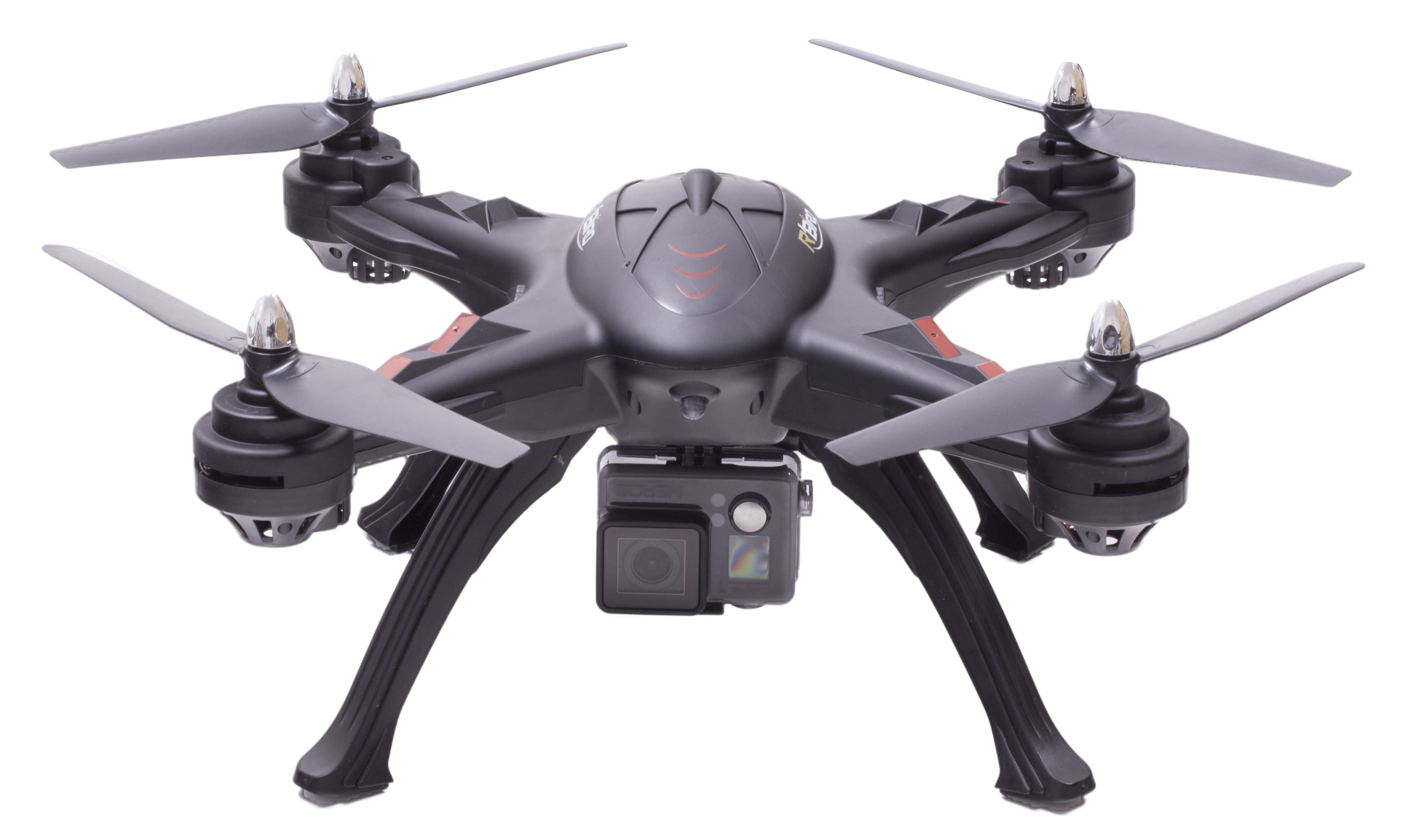 Dron R'BIRD Black Master + GoPro Hero + LCD