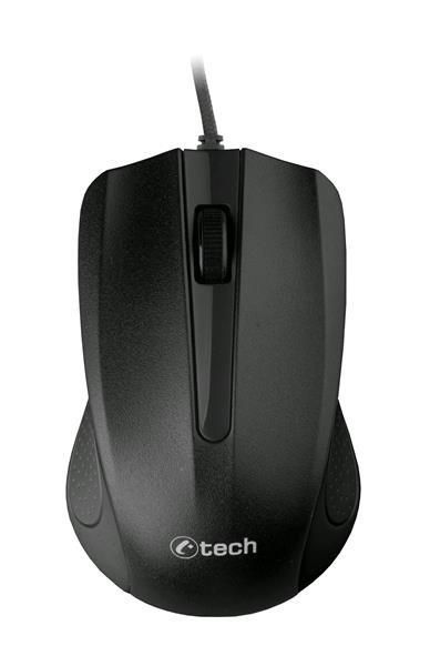 Drátová Myš C-TECH WM-01 - Černá