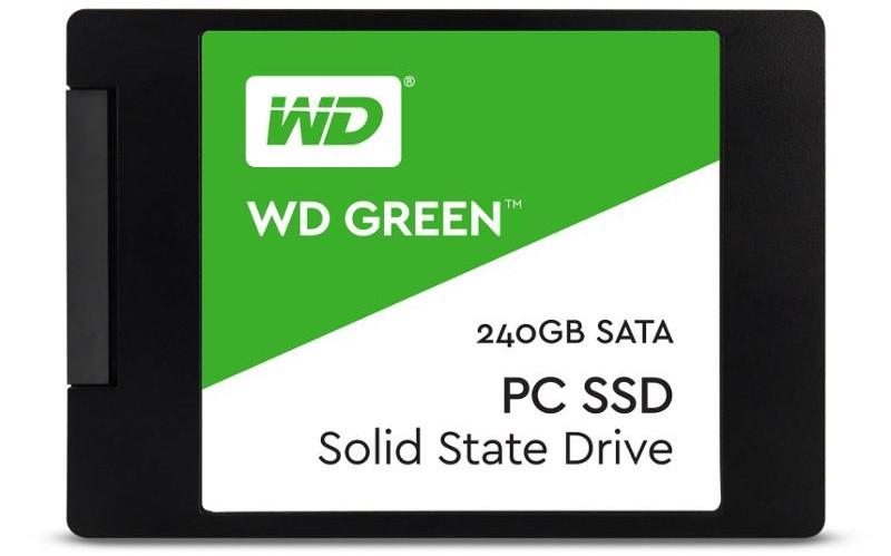 """WD GREEN SSD WDS240G2G0A 240GB SATA/600, 2.5"""""""
