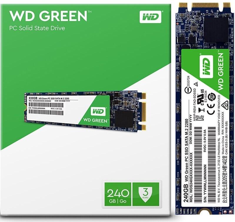 WD GREEN SSD WDS240G2G0B 240GB SATA M.2