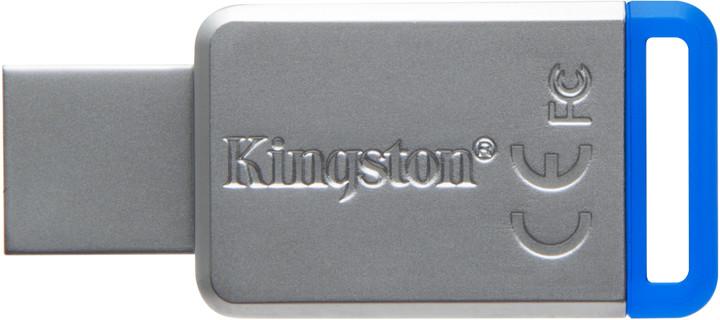 Kingston DataTraveler DT50 64GB, USB 3.0, Kovový