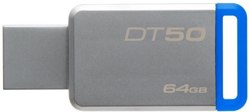 Kingston DataTraveler DT50 64GB, USB 3.0, Kovový