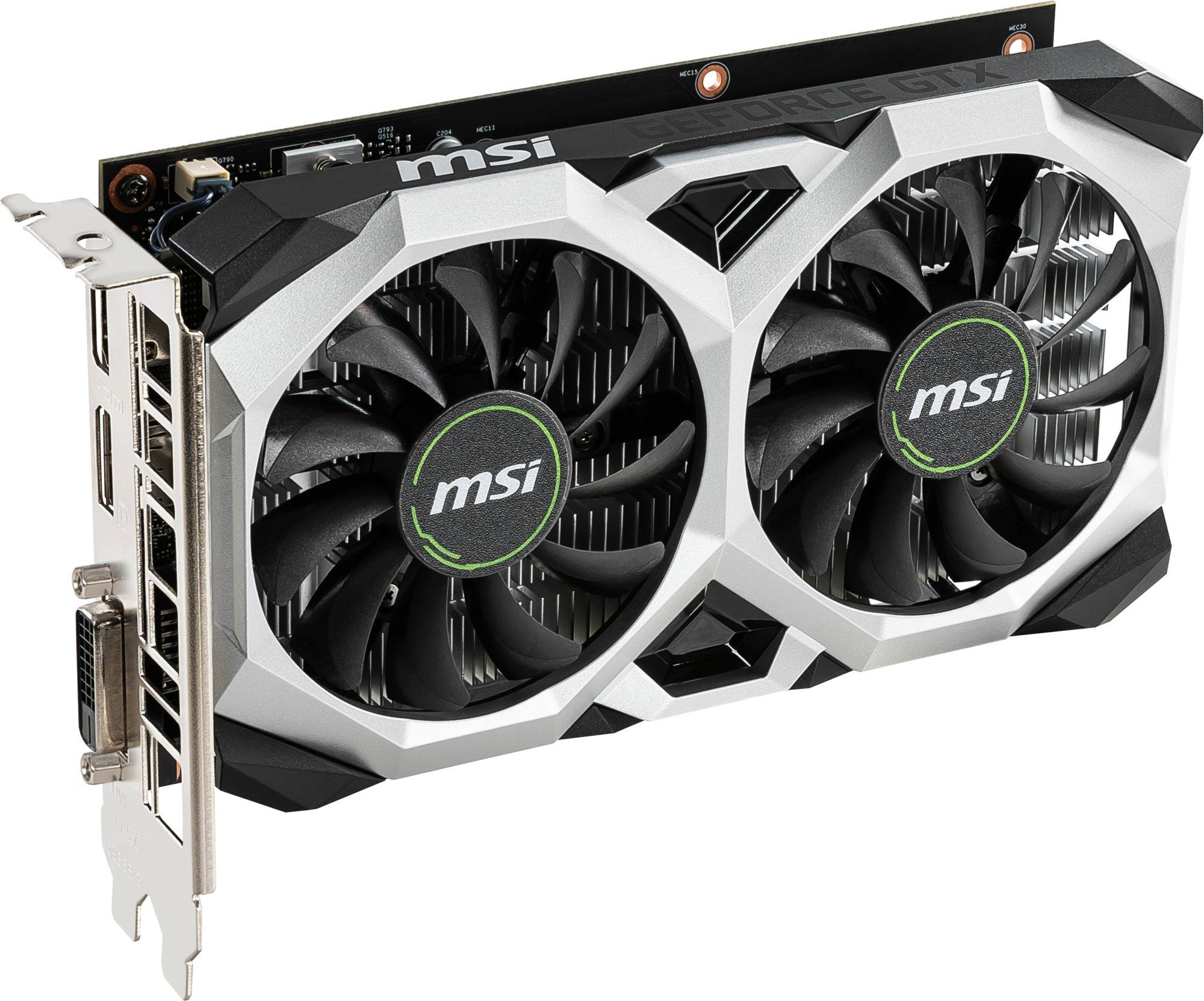 MSI Nvidia Geforce GTX 1650 Ventus XS 4G OC - 4GB GDDR5