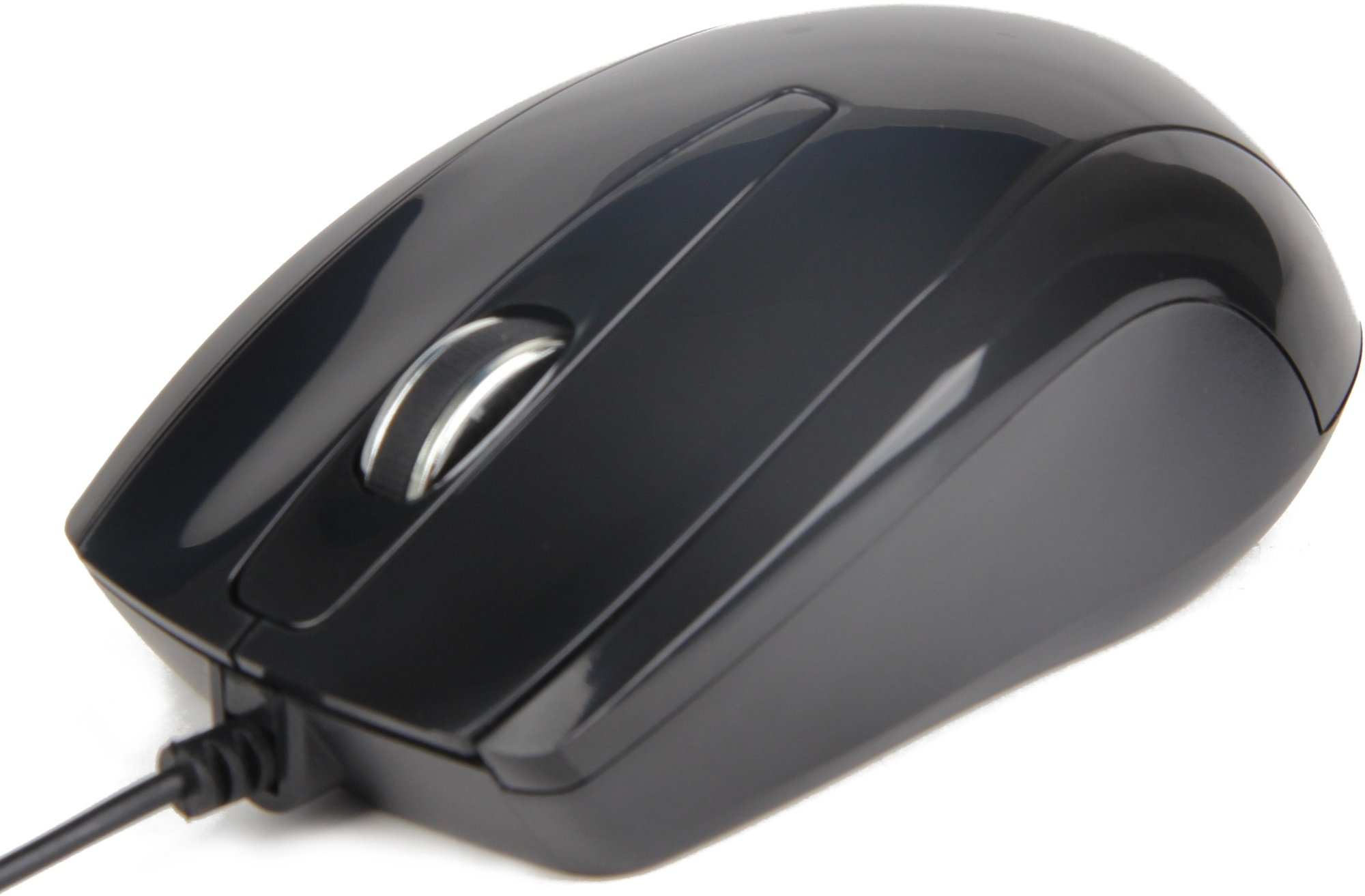 Drátová myš GEMBIRD MUS-U003 - černá