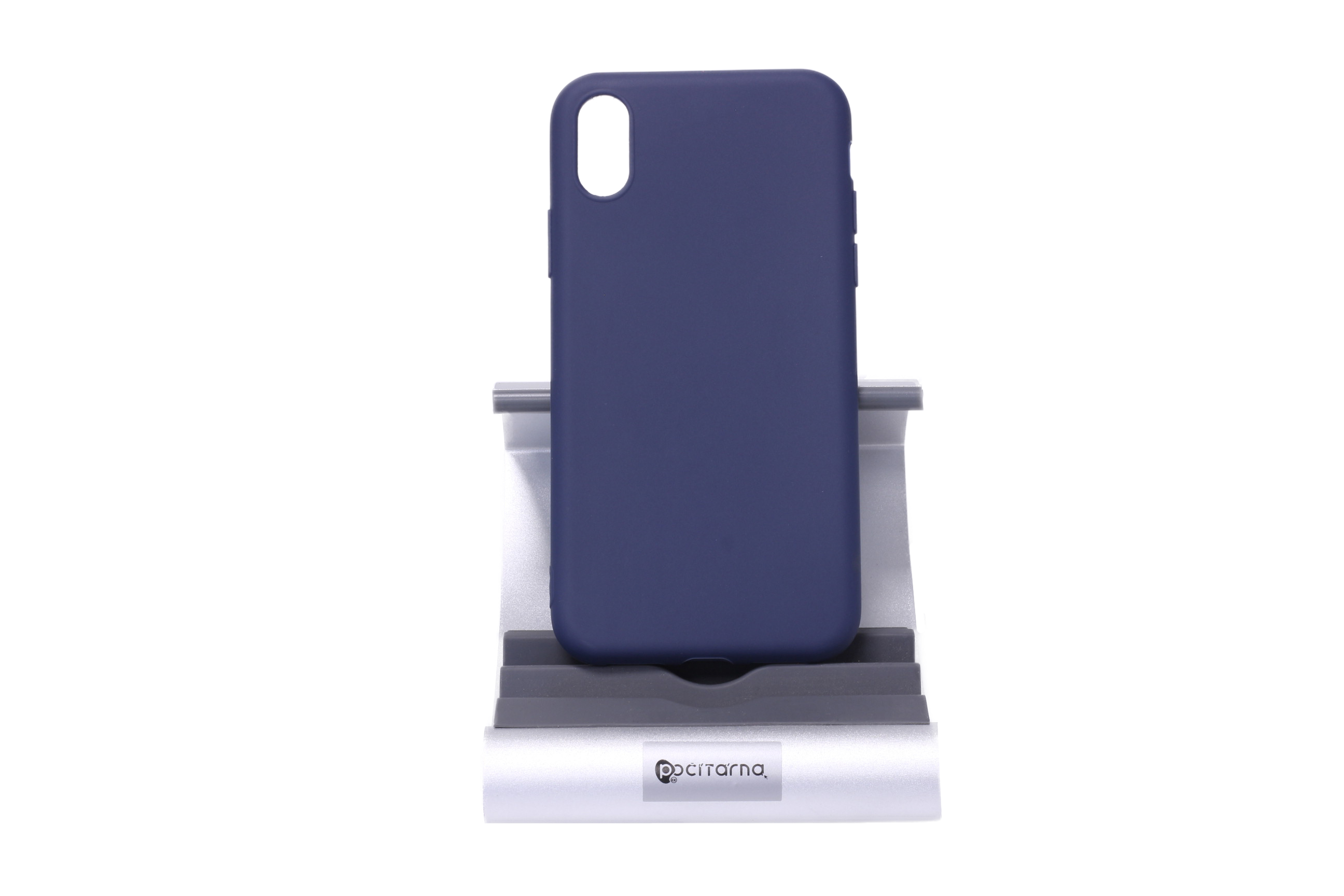 Ochranný kryt pro iPhone X/Xs - Tmavě modrý