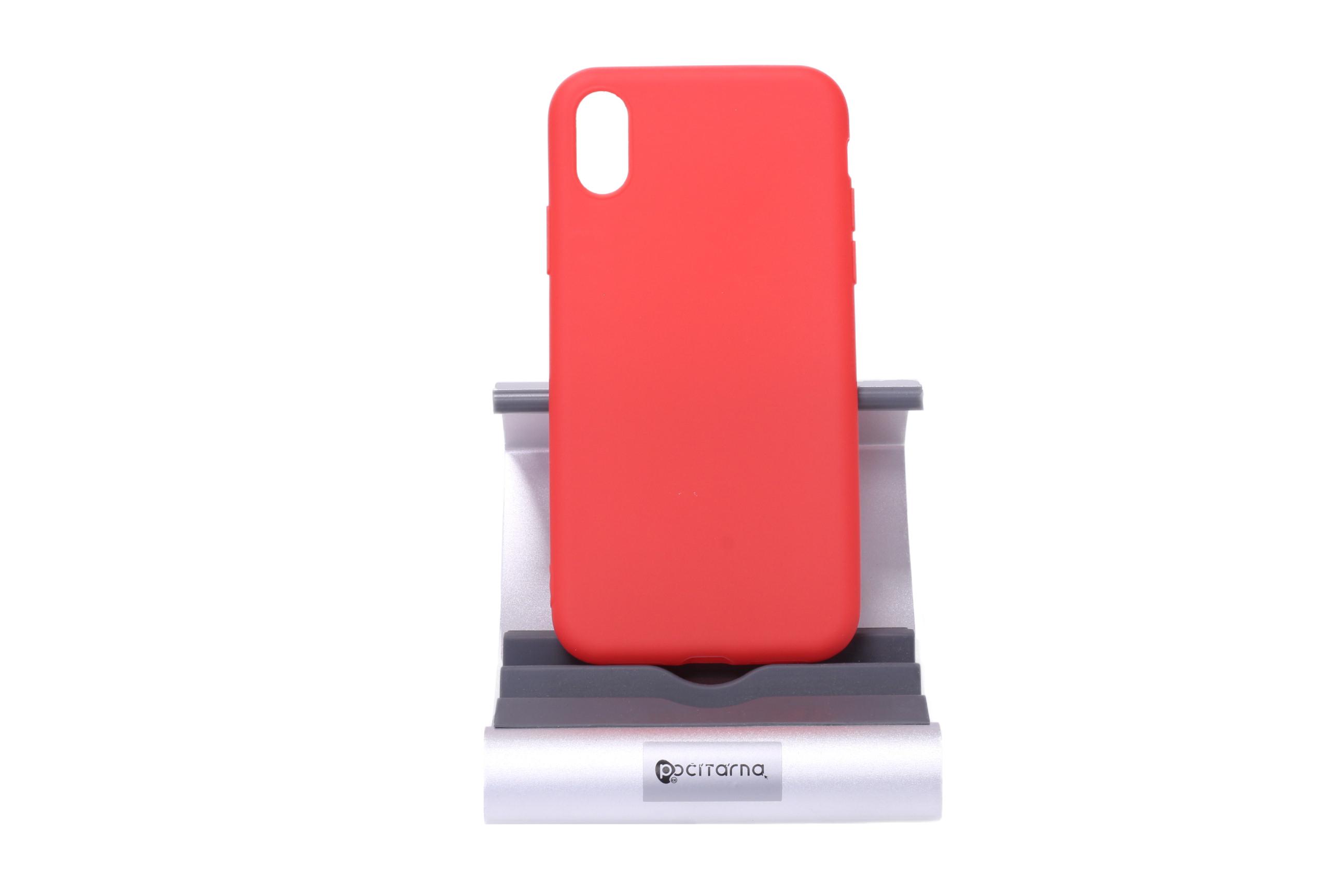 Ochranný kryt pro iPhone X/Xs - Červený