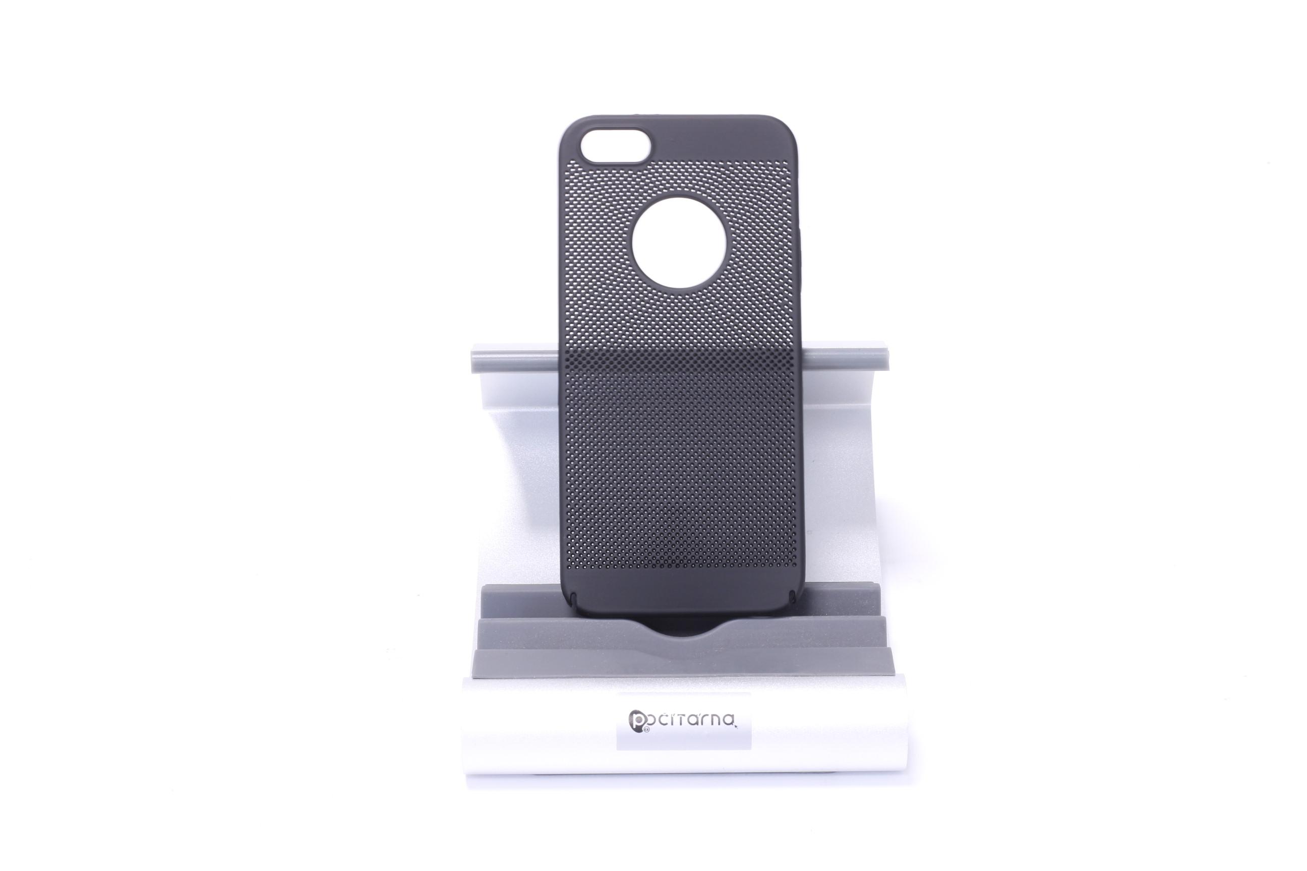 Ochranný kryt pro iPhone 5/5S/SE - Černá