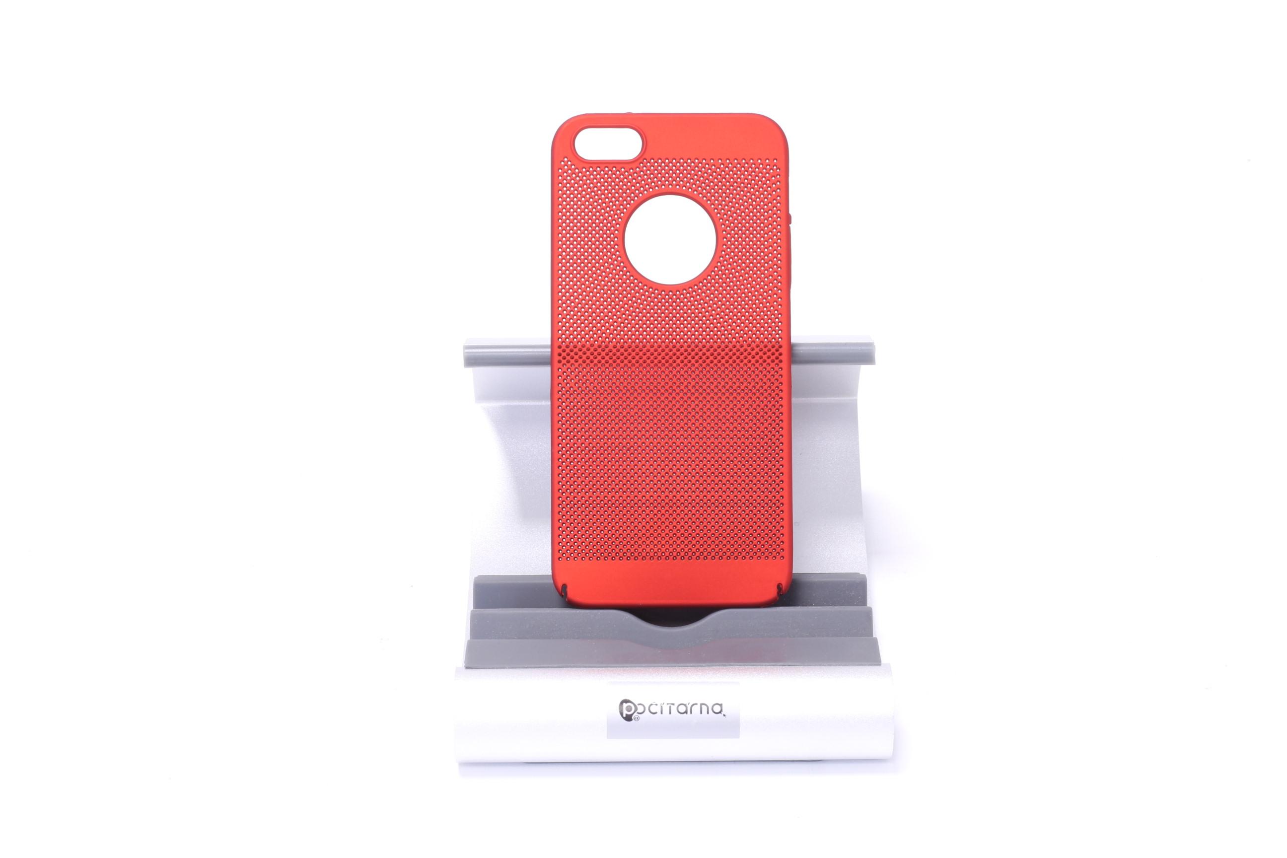 Ochranný kryt pro iPhone 5/5S/SE - Červená