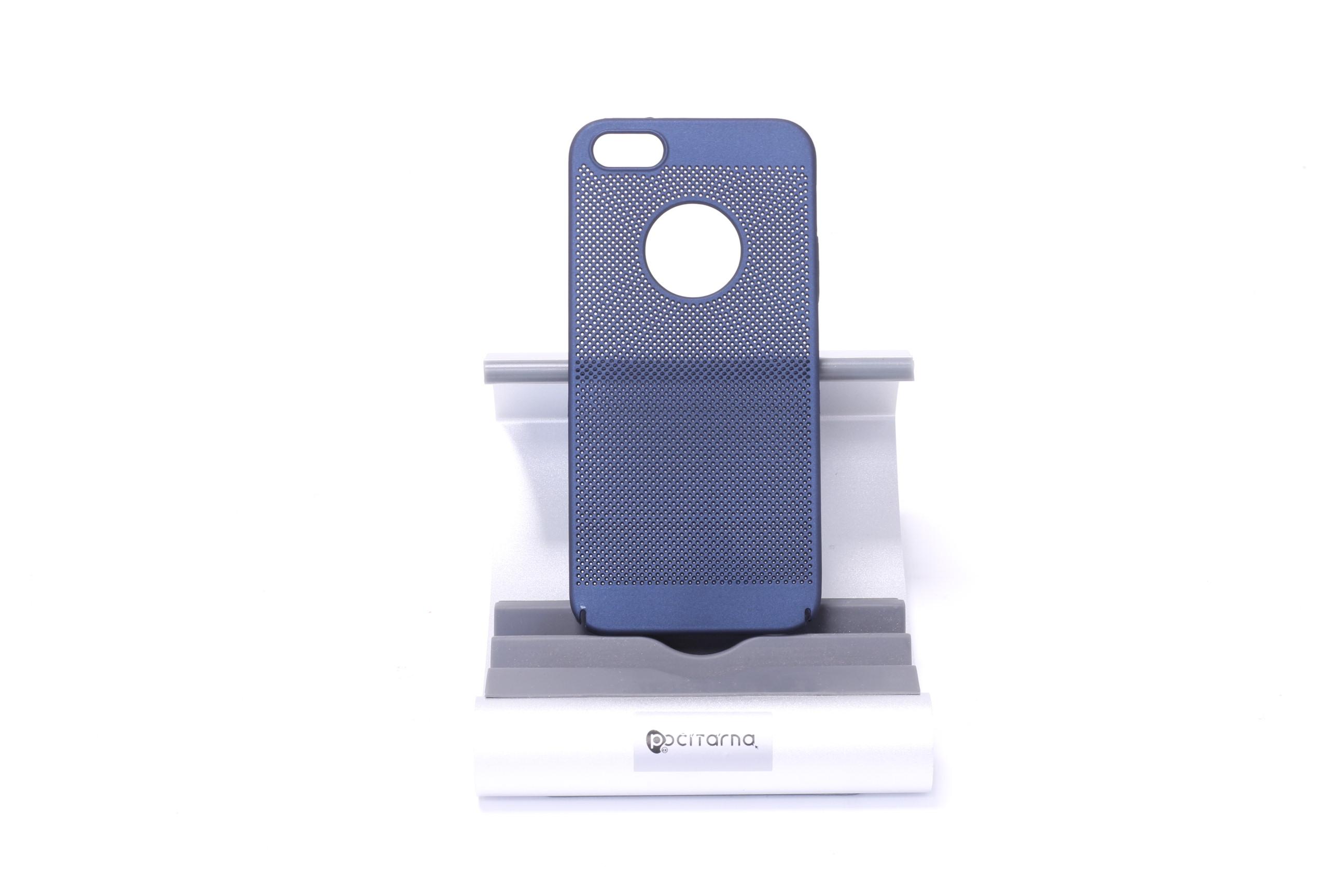 Ochranný kryt pro iPhone 5/5S/SE - Tmavě modrá