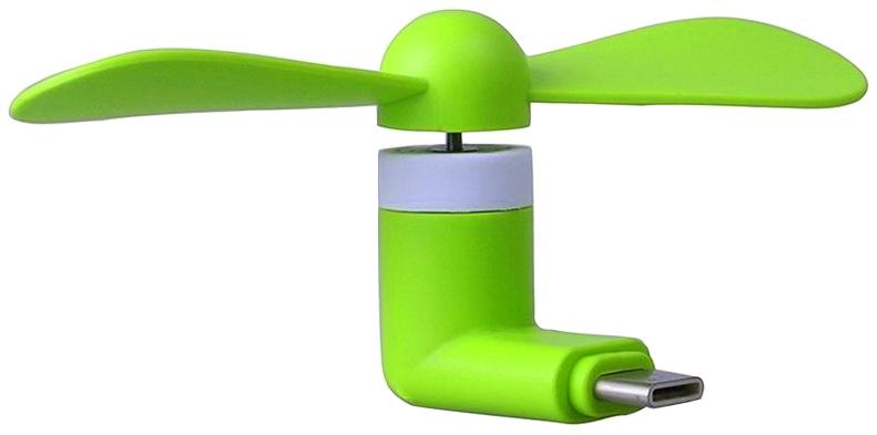 USB-C Větráček – Zelený