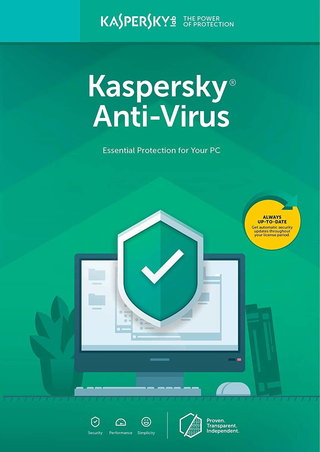 Kaspersky Anti-Virus 2019, CZ, 1 PC, 1 Rok