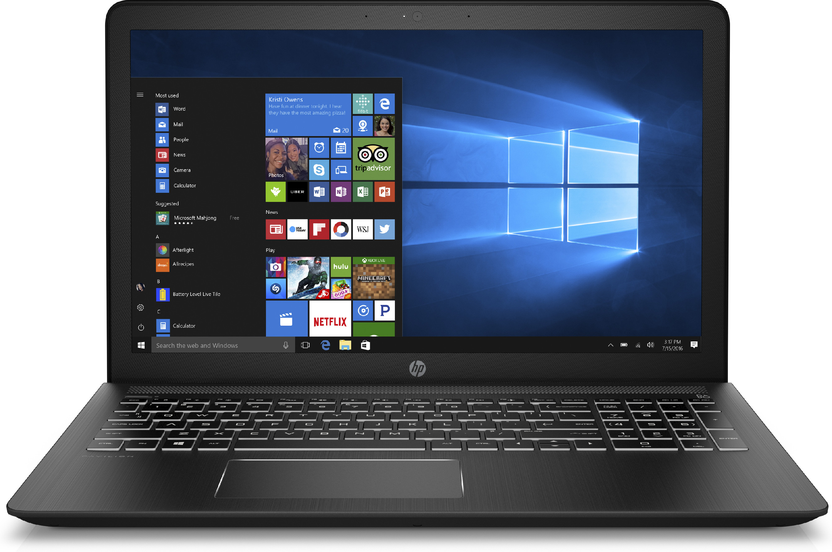 Hp Pavilion Power 15-cb007nt