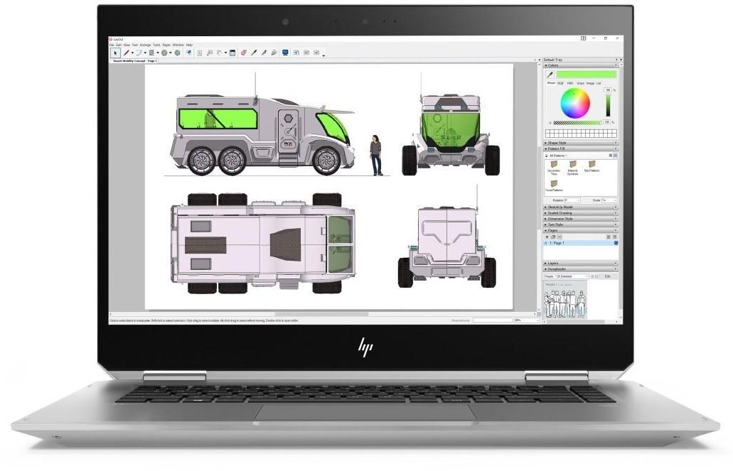 Hp ZBook 15 Studio x360 G5
