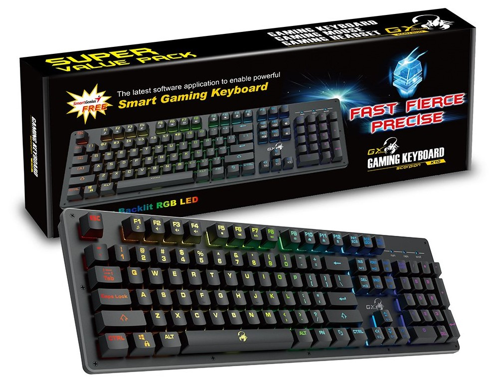 Genius GX Gaming Scorpion K10