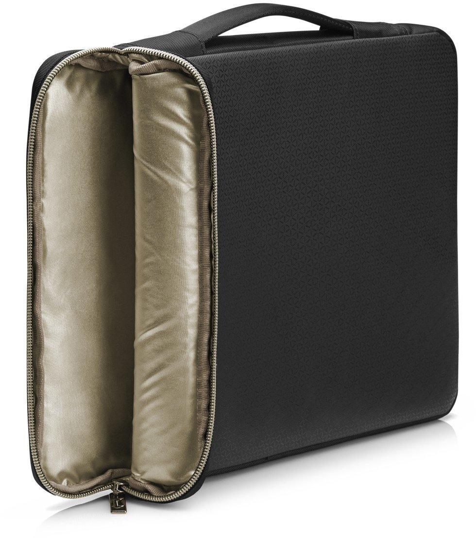 """HP Carry Sleeve Black/Gold 15,6"""" - Černá"""