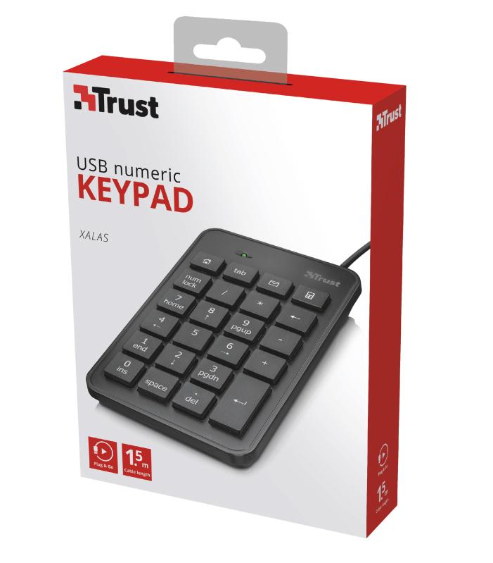 Numerická klávesnice Trust Xalas