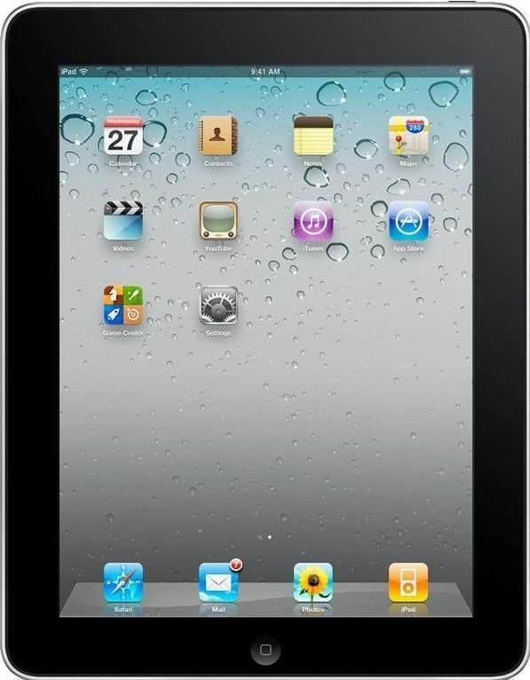 Apple iPad 2 Space Gray (A1395) Wi-Fi