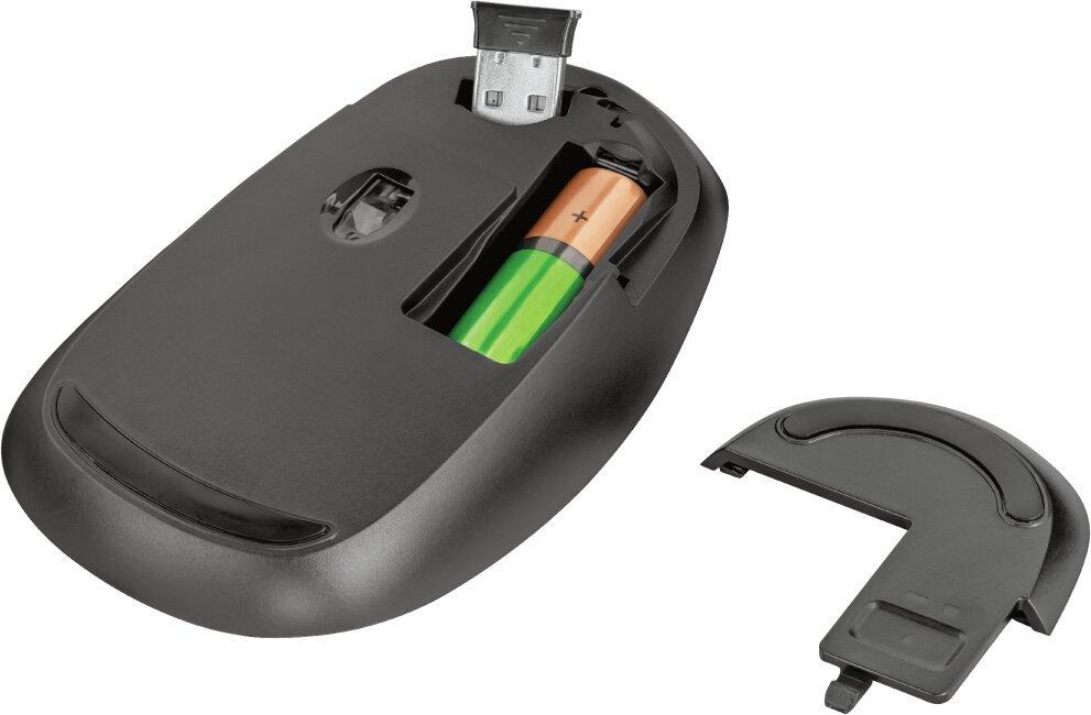 Bezdrátová Myš Sketch Silent Click Wireless Mouse - Červená