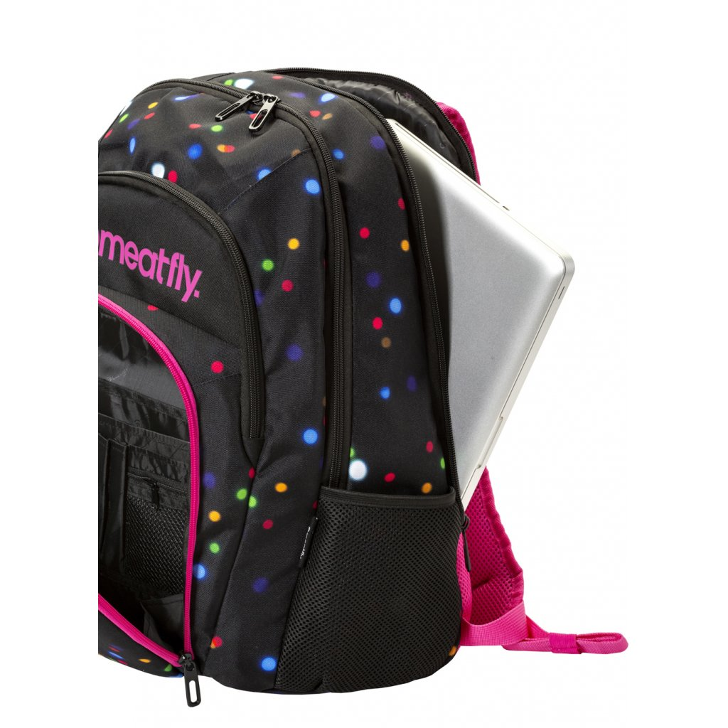 Batoh Meatfly Vault 2 Backpack B - Lights Neon