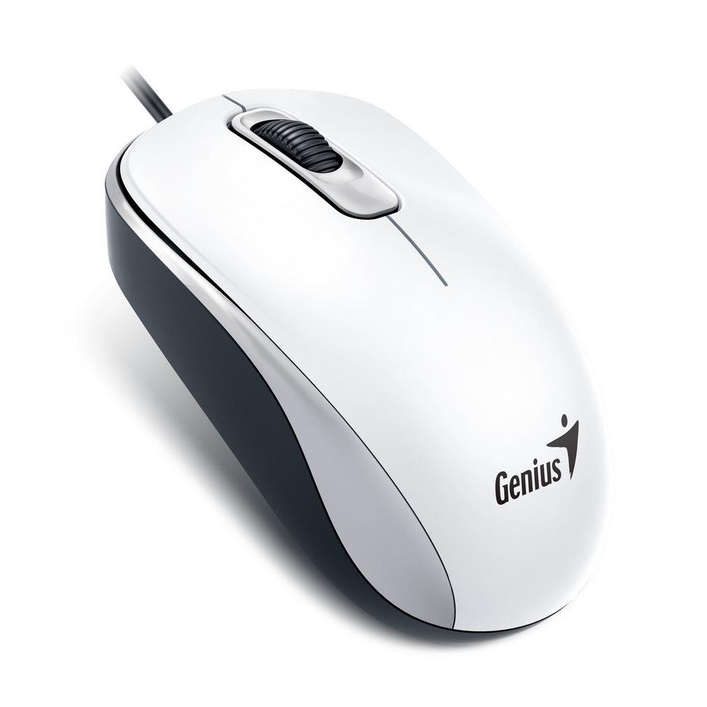 Drátová Myš Genius DX-110 - Bílá
