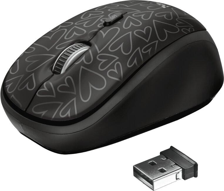 """TRUST YVO myš a pouzdro pro 15.6"""" - černá"""