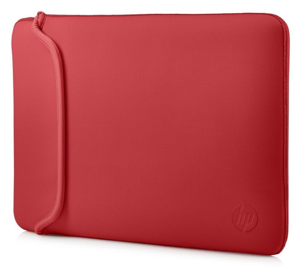 "HP 15.6"" Chroma Reversible Sleeve – Black/Red"