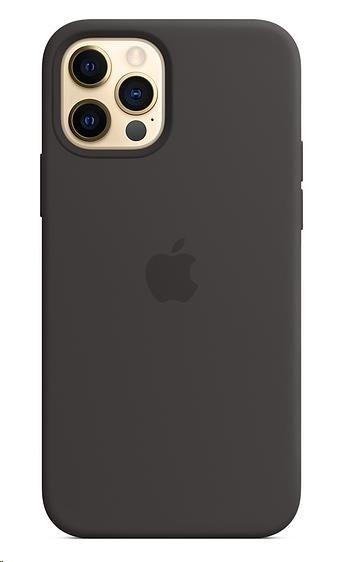 Ochranný kryt pro iPhone 12 apple s MagSafe - Černý