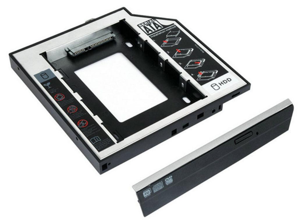 2. pevný disk namísto DVD mechaniky pro HP2540p, 2560p, 8460P, 8460W, 8470P, 8470W, 8560W