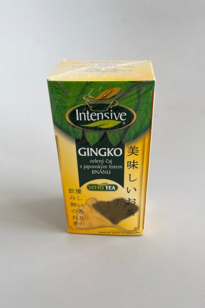 caj zeleny s gingko vitto tea 30g