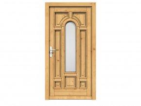 Vchodové Euro dveře - 90L