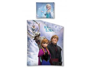 Povlečení Ledové království Anna a Kristoff ( Frozen ) 140/200