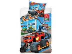 blaze monster truck blue