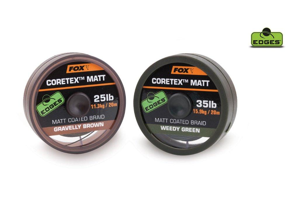 EDGES™ Coretex™ Matt (Varianta EDGES™ Coretex™ Matt - Weedy Green 15lb - 20m)