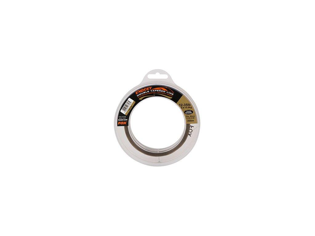 Exocet® Double Tapered Trans Khaki (Varianta Exocet® Double Tapered Trans Khaki - 0.30mm - 0.50mm x 300m)