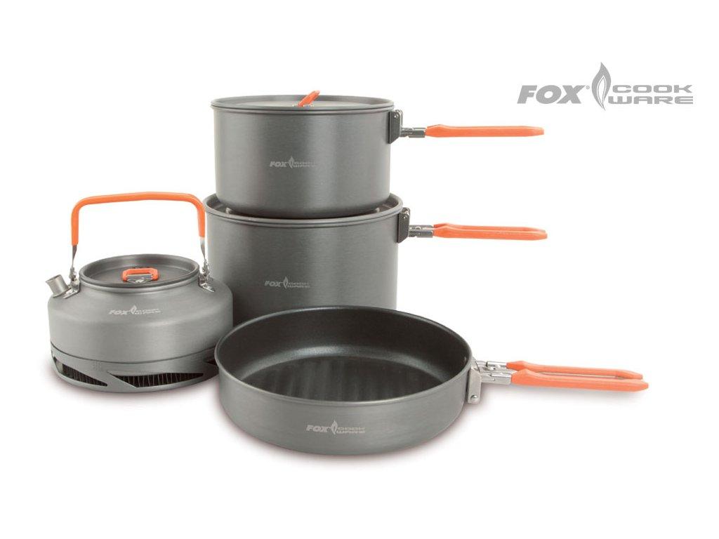 FOX Cookware Set (Varianta FOX Cookware Set - 3pc Medium Set)